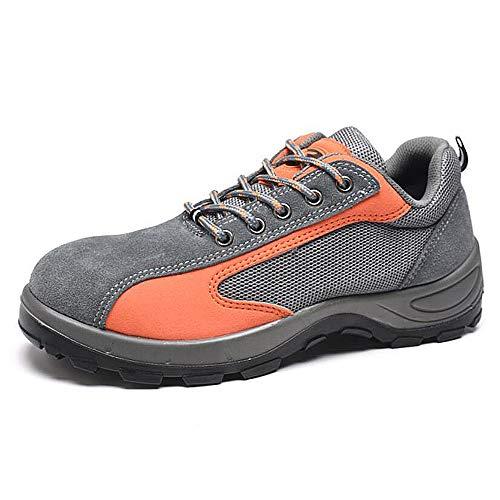 QZBAOSHU Marche Nordique Chaussures Homme Femme Outdoor Gris Orange qxanwx8r