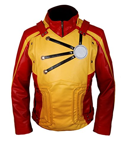 Firestorm Costume Legends Of Tomorrow - F&H Boy's Legends of Tomorrow Firestorm Jacket M Red