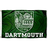 This Dartmouth Flag measures 3x5 feet in size, has quadruple-stitched fly ends, is made of durable 100% Nylon, and has two metal grommets for attaching to your flagpole. The screen printed Dartmouth College logos are Officially Licensed and Approved ...