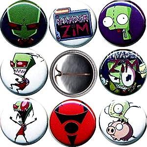 Invader Zim x 8 New 1