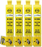 GB e-t1301-4 Multipack – 4 Compatible Printer Ink Cartridges for B42WD/BX525WD/BX535WD Compatible yellow