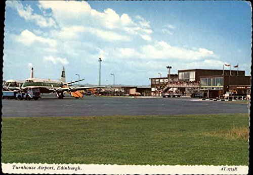 Turnhouse Airport in Edinburgh Edinburgh, Scotland Original Vintage (Edinburgh Airport)