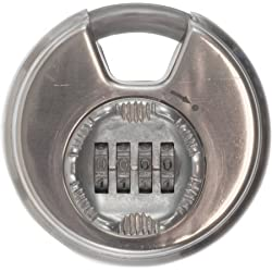 Brinks Maxiumum Security 80MM Discus Lock with Dial Combination