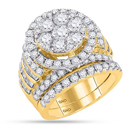 5 carat diamond ring - 2