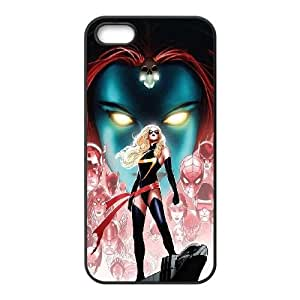iPhone 5 5s Cell Phone Case Black Miss Marvel Comic BNY_6963889