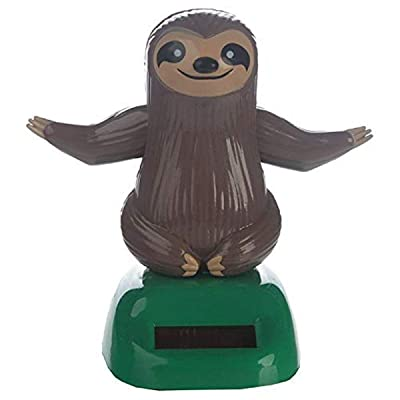 Puckator Collection Sloth Solar Powered Pal: Toys & Games