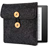 WALNEW 7-Inch Kindle Sleeve for Kindle Oasis - Protective Insert Sleeve Case Cover Bag for Kindle Oasis 10th Generation 2019 / 9th Generation 2017, Black