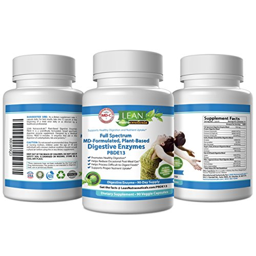 Md Certified Digestive Enzyme Supplements Proteolytic