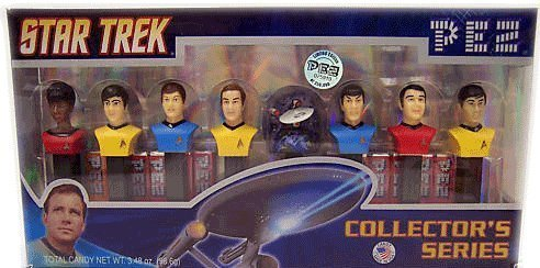 PEZ Star Trek Limited Edition, Numbered Collectors Set, 3.48-Ounce Box by Pez Candy ()