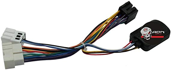 Interface Commande au volant NS17P compatible Nissan X-Trail ap00 Pioneer Sony ADNAuto