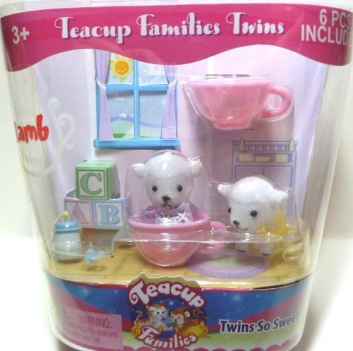 Teacup Families Twins Bounty Lamb Twins by Teacup Families