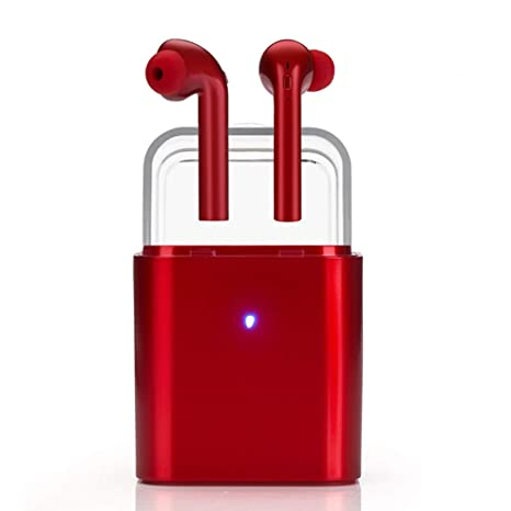 Auricular Bluetooth Inalámbricos, Duración de reproducción de 5 Horas y reducción de Ruido estéreo 3D