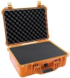 Pelican 1520 Case with Foam for Camera (Orange)