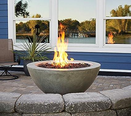 Amazon Com Outdoor Greatroom Cove Round Fire Pit Garden Outdoor