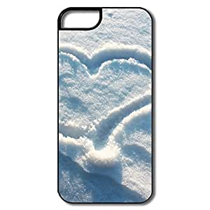 Cool Snow Love Pc Case Cover For IPhone 5/5s