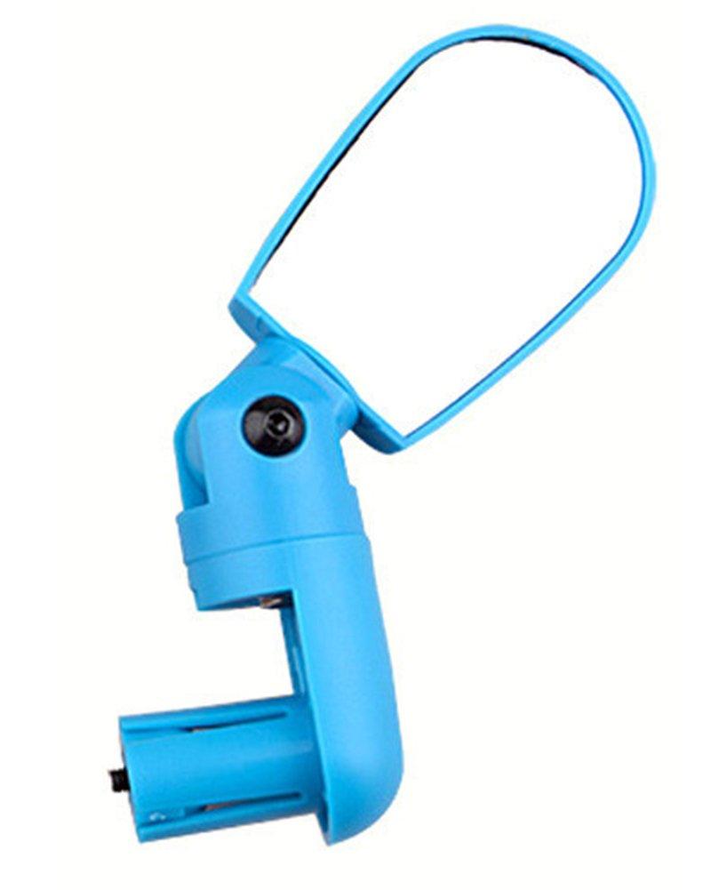 SaySure - Bike Bicycle Bicycle Bicycle Cycling Mini Handlebar Glass Flexible Rearview Mirror Blau - GMN-BG-SPT-000218 B00NOHOV3S Zubehr & Gerte Trend 3f87ea