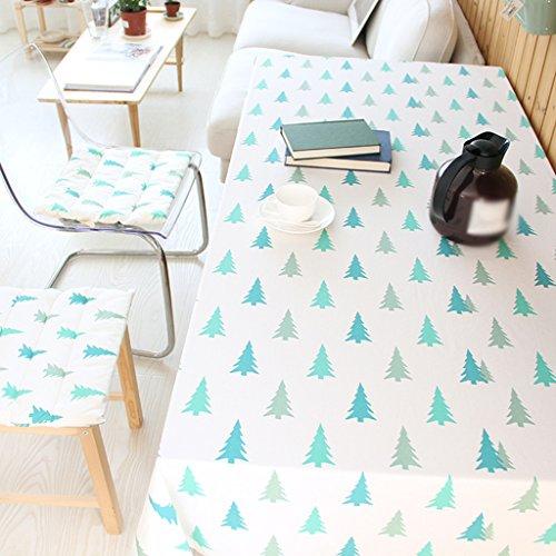 Lying Offre Spéciale Nappe Tissu Linge Table basse ronde Table de salle à hommeger Housse Tissu Toile Serviette Pin - Décoration de table (taille   140  180CM)