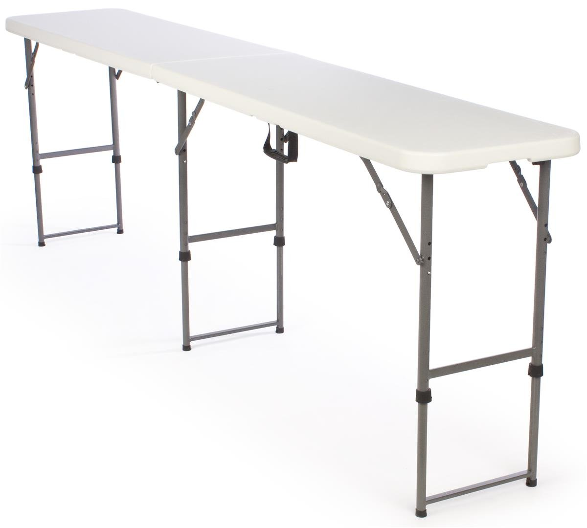 Amazon.com: Adjustable Height Folding Tables Are Portable And Can Be  Adjusted To 3 Separate Heights: Office Products