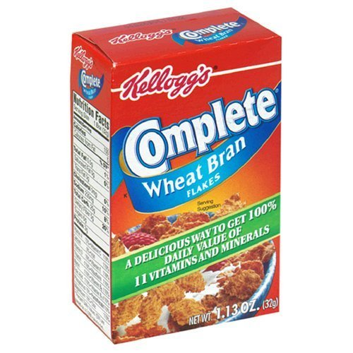 Complete Bran Flakes Cereal, 1.13-Ounce Single Serve Packs (Pack of 70) by Kellogg's ()