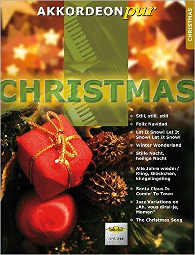 Akkordeon pur: Christmas. Spezialarrangements im mittleren Schwierigkeitsgrad