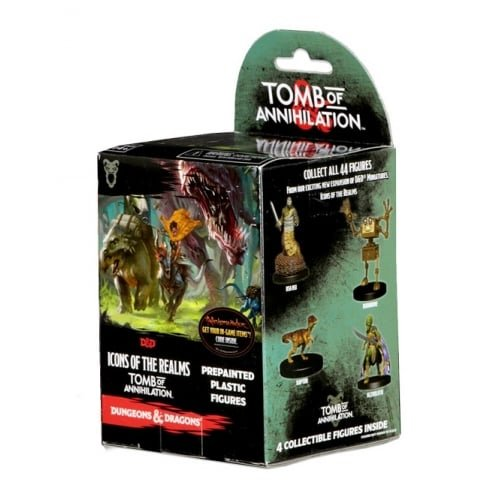 (Dungeons & Dragons: Icons of the Realms: Tomb of Annihilation Booster Pack )
