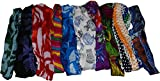 Wevez Women 10 Printed Stretchable Yoga Cotton Head