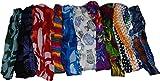 Wevez Women 10 Printed Stretchable Yoga Cotton Head Bands