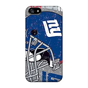 JacquieWasylnuk Apple Iphone 5/5s Comfortable Phone Hard Cover Unique Design Fashion New York Giants Pattern [qIa7828gMTf]