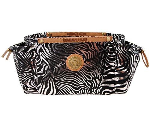 purse organizer inserts zebra - 8