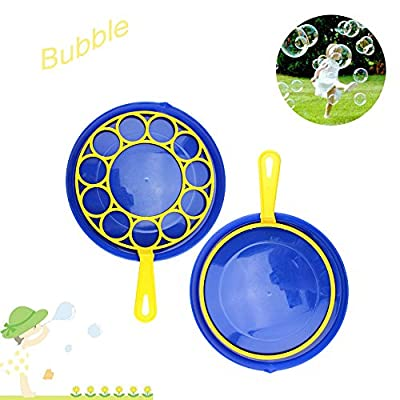 Starwak Bubble Toys for Kids, Bubble Wand, Bubble Tray,Add Soap Water in The Plate,Tip The Water with The Stick,Non Toxic Summer Toys Activity Party Favors Birthday Gift Kids Outdoor Toys(A): Arts, Crafts & Sewing