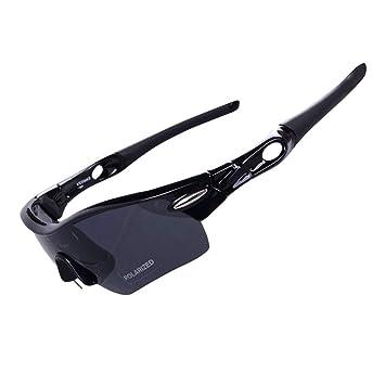 JBP Max Polarizado Deportes Hombres Gafas De Sol Gafas De Viento Anteojos De Montaña Ciclismo Al
