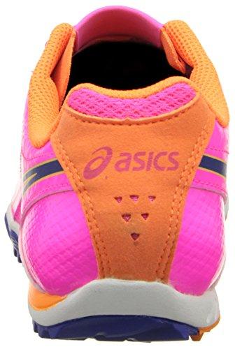 Asics Womens Cross Scarpa Magenta / Blu Elettrico / Corallo Caldo