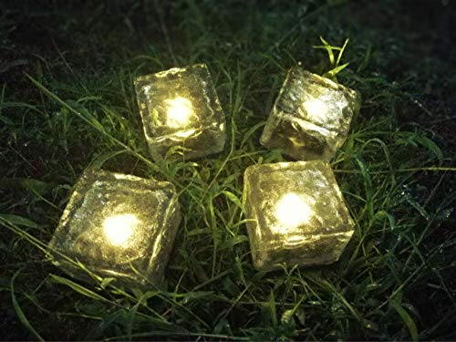 Outdoor Solar Light Cubes