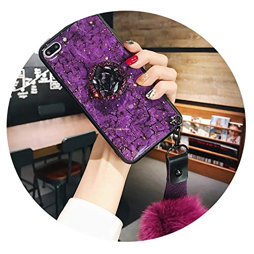 Phone Cases for iPhone Xs Max Case Marble Glitter Holder Coque for iPhone XR XS X 6 6S 7 8 Plus 7Plus 8Plus 6SPlus Cover,15C,for iPhone Xs
