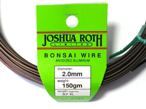 Bonsai Wire 2.0 Mm 50 Percent More Than Competing Brands