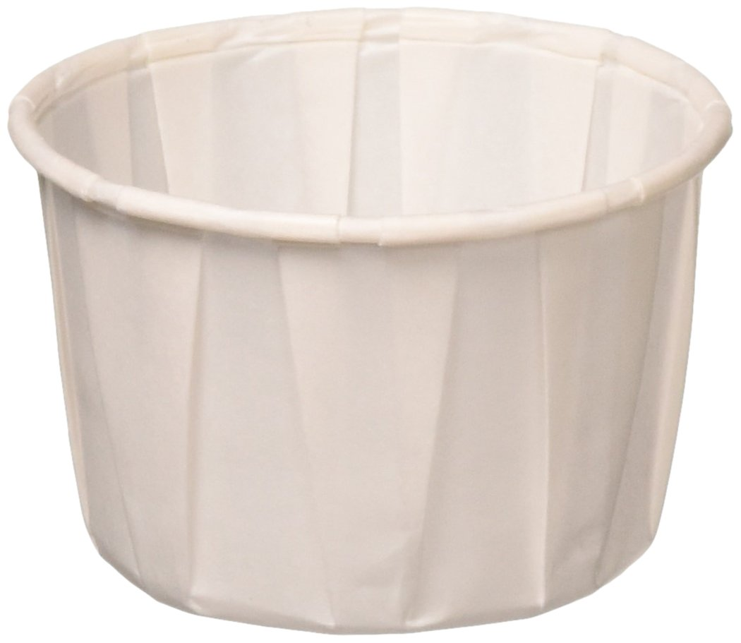 Solo 2.0 oz Treated Paper Souffle Portion Cups for Measuring, Medicine, Samples, Jello Shots (Pack of 250)