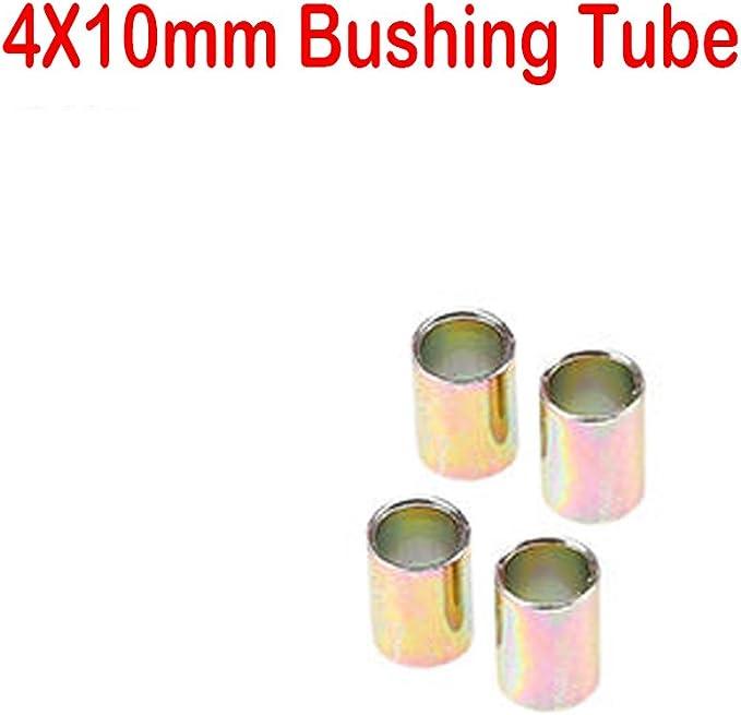 2x 10mm Suspension Rear Lower Shock Absorber Strut Mount Bushing for Honda