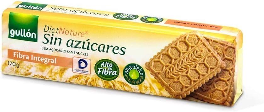 Diet Nature - Galletas de Trigo Integral - 170 g: Amazon.es ...