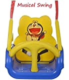Panda Goyal's Baby Musical Swing With Multiple Age Settings 4 Stages -Blue