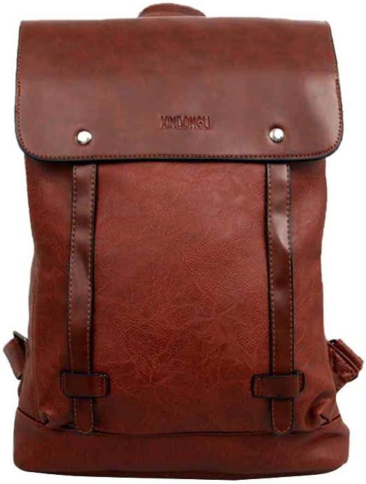 Fashion Men/'s Faux Leather Handbag Backpack Travel Satchel Laptop Messenger Bags