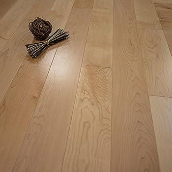 Maple W4mm Wear Layer Prefinished Engineered Wood Flooring 5 X 58