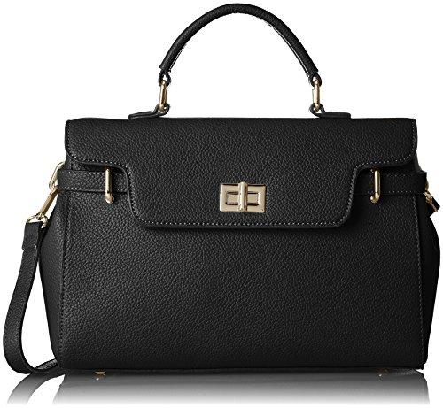 Silvian Heach - Bag Gualchos, Bolsos de mano Mujer, Nero (Black), 14x27x33 cm (W x H L)