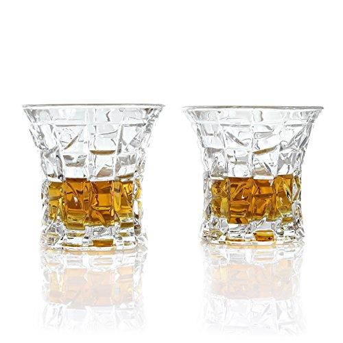 Irish Liqueur (Vilmont Kepp Premium Whiskey Glass Gift Set of 2   Scotch, Bourbon, Irish Whisky, Brandy, Liqueur   Dishwasher Safe Ultra Clarity Glasses (8.28oz / 245ml).)