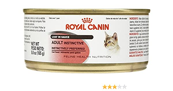 Amazon.com : Royal Canin Feline Health Nutrition Adult Instinctive Loaf - 24x5.8 oz : Pet Supplies