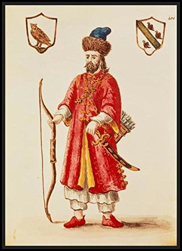 Marco Polo (1254-1324) dressed in Tartar costume (Marco Polo Costume)