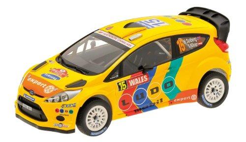 Minichamps 151110815 – Ford Fiesta WRC – Wales Rally 2011 – Echelle 1/18 – Gelb