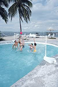 Dunnrite Products Aqua Volley Swimming Pool Volleyball Set