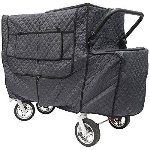 (Creative Outdoor Quilted Insulated Cold Weather Cover for Push Pull Wagons | Accessory)