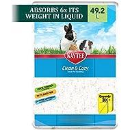 Kaytee Clean & Cozy Bedding, White, 49.2 Liters (Pack of 1)