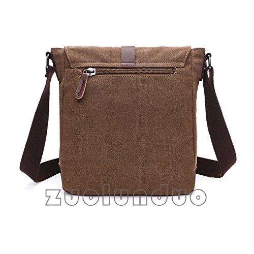 Vintage for 8167 Satchel Travel Canvas Rucksack Gym Work Cross Bag Sling Bag Body Queenie Unisex Brown Tote Backpack Shoulder AqdgwSS